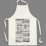 Edinburgh Words Apron